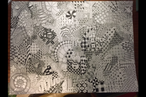 zentangle18by20bradweddinggift
